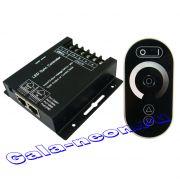 Сенсорный диммер с RF пультом 6 кнопок 24A 12В (12-24V, 288-576W)