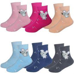 Махровые детские носки с5061