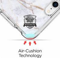 Купить чехол Spigen Ultra Hybrid 2 Marble для iPhone 8 белый чехол для Айфон 8 в Москве в интернет магазине аксессуаров для смартфонов elite-case.ru