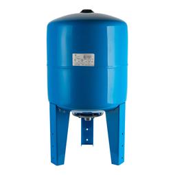 Расширительный бак 500 л., гидроаккумулятор вертикальный (цвет синий)