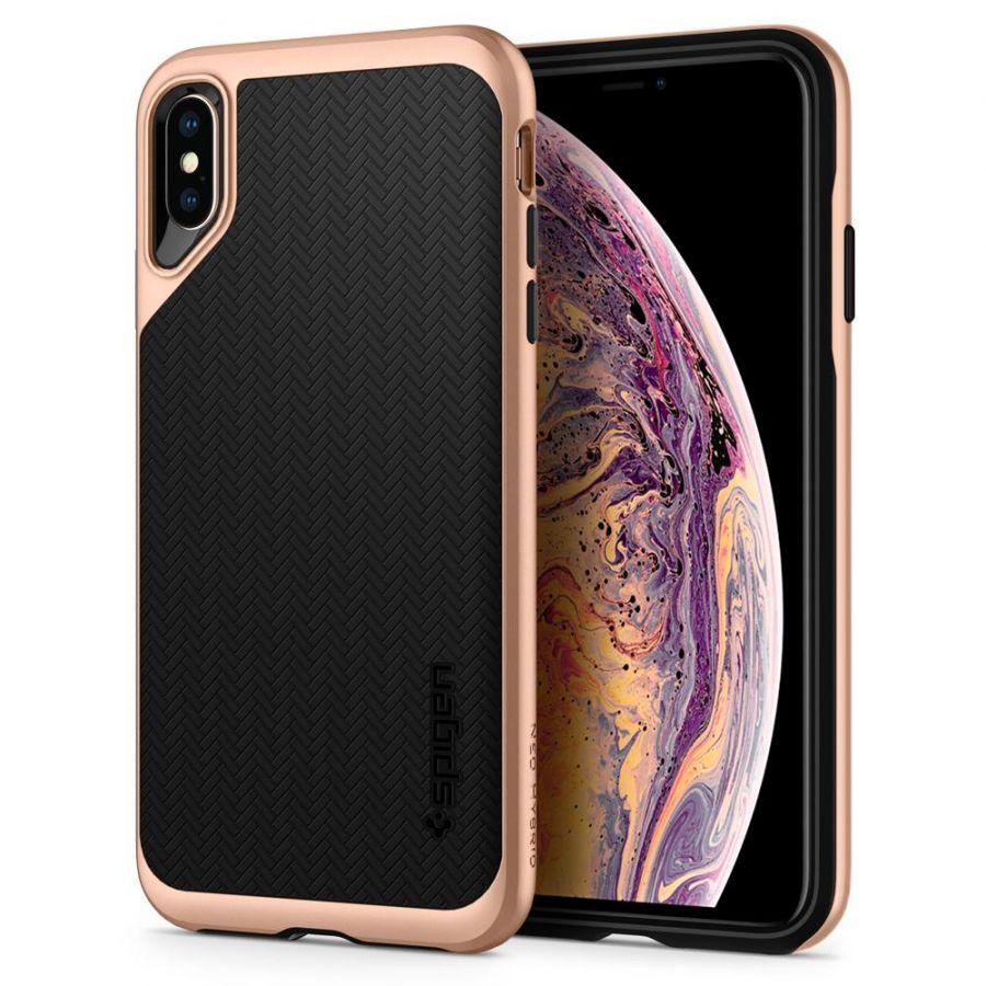 Чехол SGP Spigen Neo Hybrid для iPhone XS Max румяное золото
