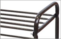 Этажерка для обуви метал (435х660х300) 2-х. Ника