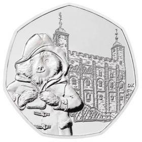 Медвежонок Паддингтон  (Тауэр) 50 пенсов Великобритания 2019