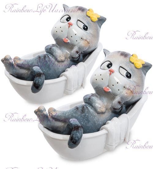 """Фигурка коты в ванной """"MN"""""""