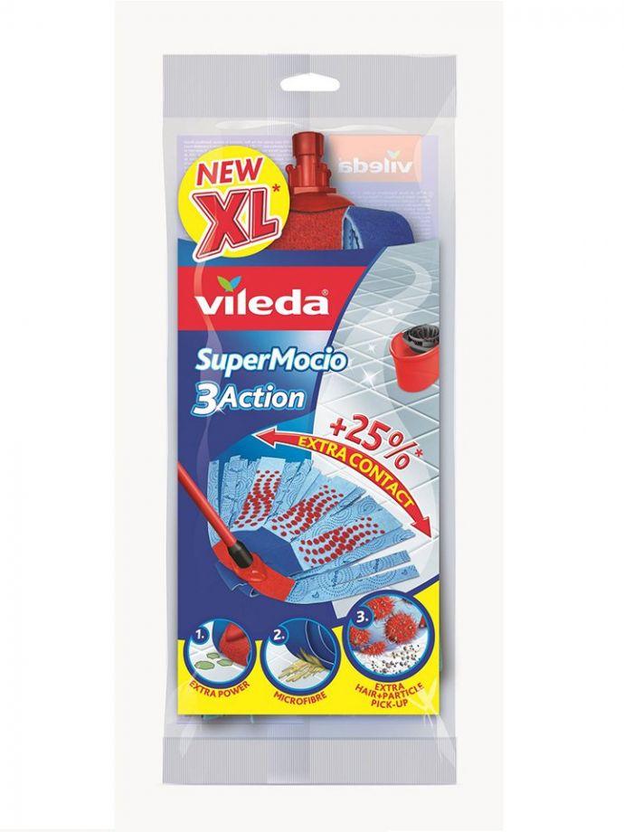 Насадка для швабры Vileda Super Mocio 3 Action