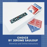 Choice (Gimmicks and Online Instructions) by Jerome Sauloup and Magic Dream