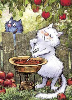 Почтовая открытка Варенье