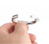 Кольцо металлическое эрекционное с магнитными вставками. 5