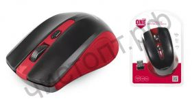 Мышь беспроводн. Smartbuy ONE 352 красно-черная (SBM-352AG-RK) блистер