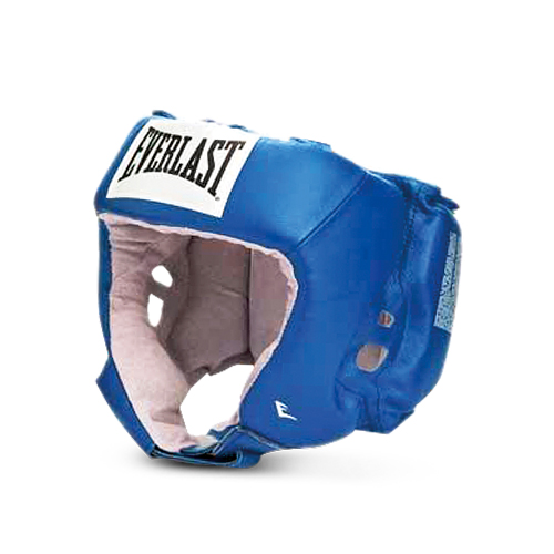 Шлем боксёрский Everlast USA Boxing синий, р. XL,  артикул 610606U