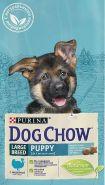 DOG CHOW Puppy Large Breed Корм для щенков крупных пород с индейкой (2,5 кг)