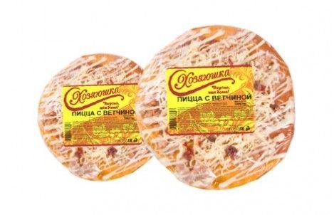 Пицца с ветчиной 300г Хозяюшка