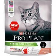 Pro Plan Sterilised (с лососем) для стерилизованных кошек для поддержания органов чувств, (400 г)