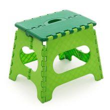 Табурет складной Мультистул, Высота: 18 см, Цвет сиденья: Зеленый