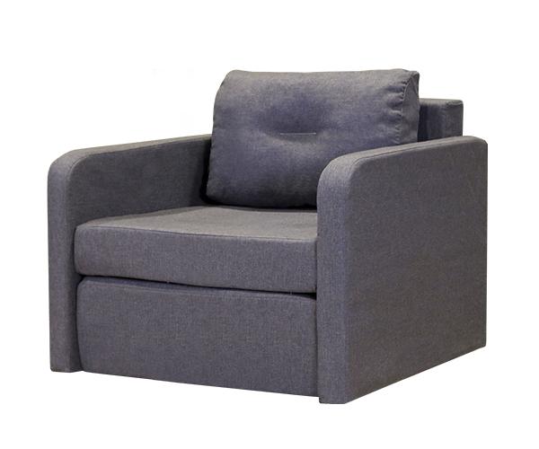Кресло-кровать Бит-2 серый