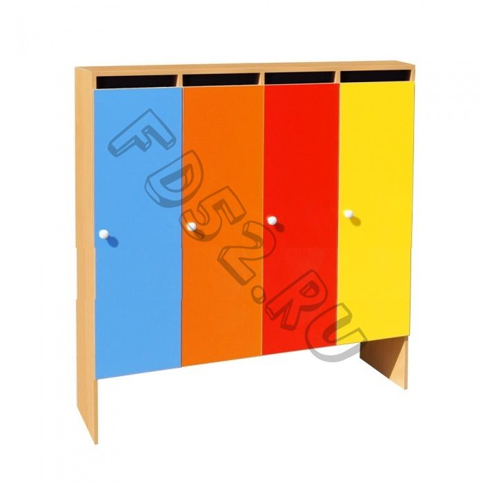 Шкаф для одежды 4-х секционный ШНД-4