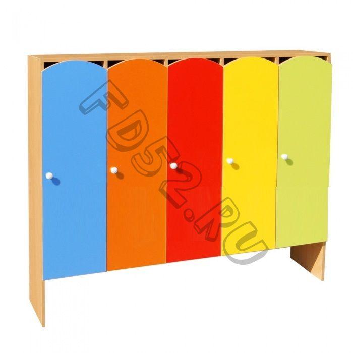 Шкаф для одежды 5-ти секционный ШНДР