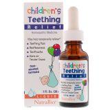 NatraBio Children's Teething Relief Средство для снятия боли при прорезывании зубов у детей