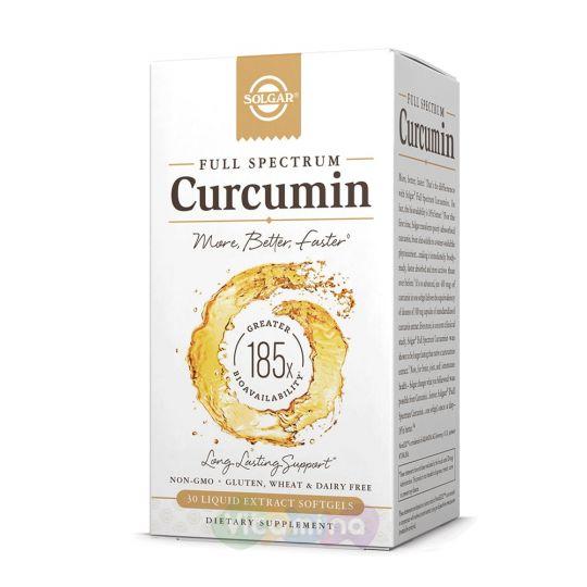 Солгар Curcumin (Куркумин), 30 капсул