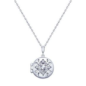 Колье из серебра с фианитами 94070161 SOKOLOV