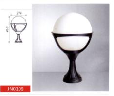Уличный парковый светильник 100W, E27, IP44