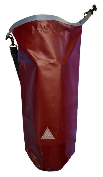 Гермомешок Woodland Dry Bag 40 л, пвх, с лямкой, цвет красный