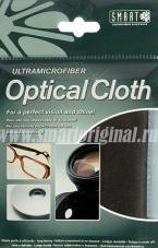 Smart Microfiber Салфетка для оптики замша тёмно-серая 20 х 20 см