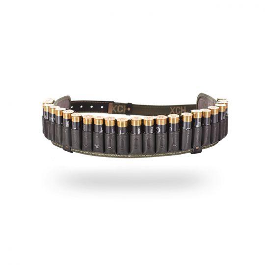 Патронташ комбинированный  открытый на 24 патрона 12 калибра Черный