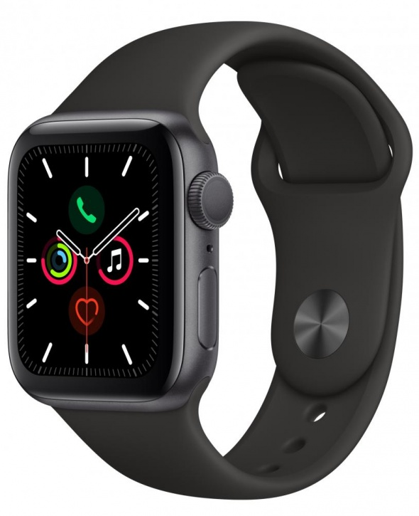 Apple Watch Series 5 GPS 40mm Black
