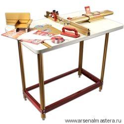 Фрезерный стол (позиционер 432 мм, стопор, фиксатор угла, вставки, пластина для фрезера) INCRA M-RT COMBO 2