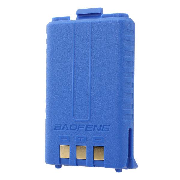 Аккумулятор BL-5 для рации Baofeng UV-5R (1800 мАч) синий