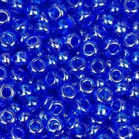 Бисер чешский 36050 синий прозрачный блестящий Preciosa 1 сорт