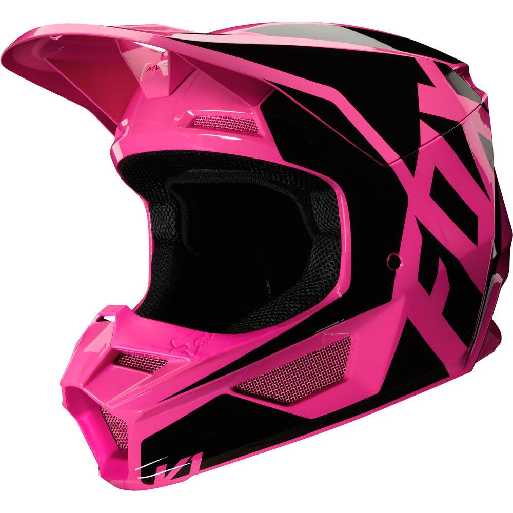 Fox - 2020 V1 Prix Pink шлем, розовый