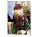 Санта Клаус с кристаллом 30 см