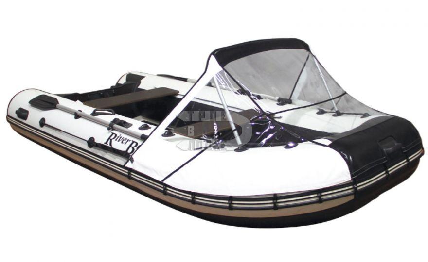 Тент носовой прозрачный для лодок ПВХ