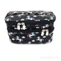 Органайзер-косметичка для путешествий Travel Cosmetic Bag,  Черный