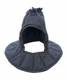 Подшлемник для вшивания в шлем. Черный.
