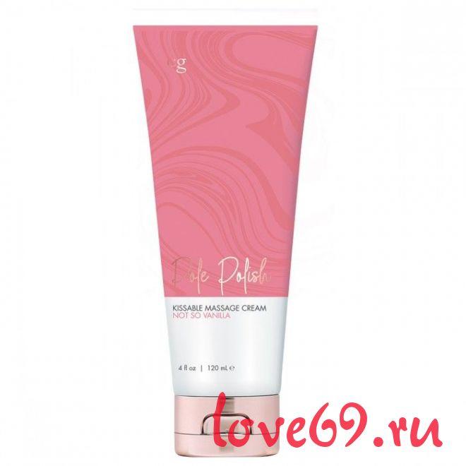 Съедобный массажный крем для поцелуев с ароматом ванили CG Not So Vanilla - 120 мл.
