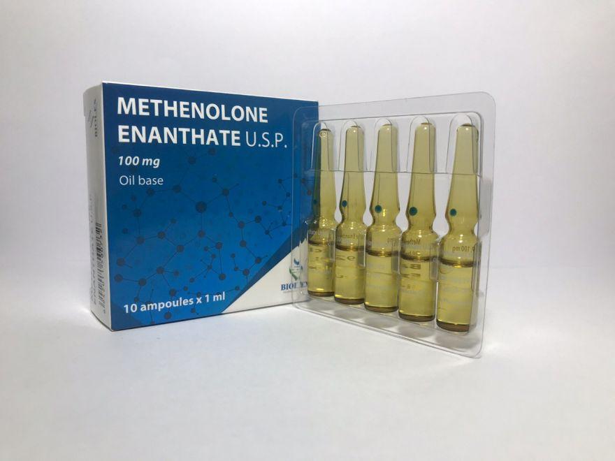 METHENOLONE ENANTATE 10 amp/100 mg (BIOLEX)