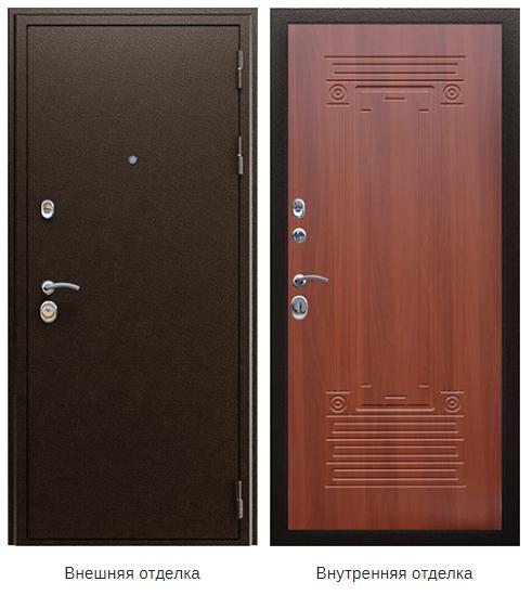 Стальная дверь «Триумф NEW» (заказная)