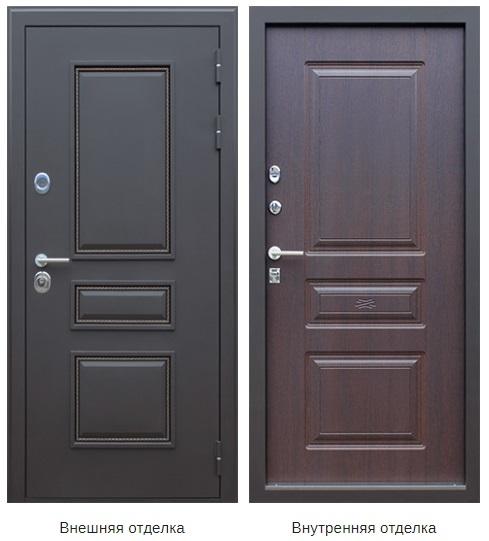 Стальная дверь «Север» (заказная)