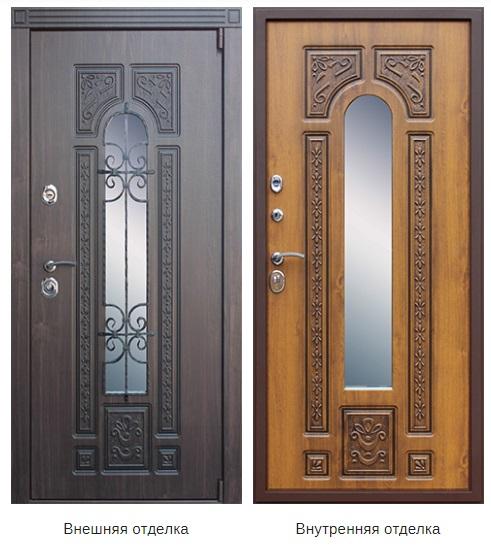 Стальная дверь «Лацио» (заказная)