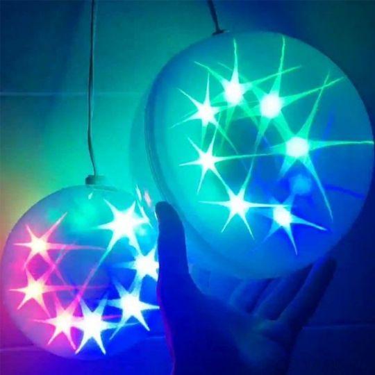 Эксклюзивный шар с LED светодиодами Ceiling Colourful Star Light, 30 см