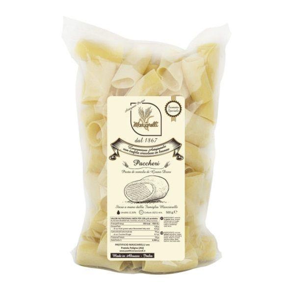 Паста Паккери Пастифичио Машиарелли 500 гр., Paccheri Pastificio Masciarelli 500 gr