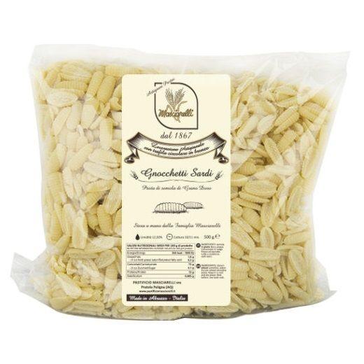 Паста Ниокетти сарди Пастифичио Машиарелли 500 г, Pasta Gnocchetti Sardi Pastificio Masciarelli 500 gr