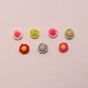 """`Кабошон """"Цветок"""", пластик, 20 мм, Арт. Р-КБП0414"""