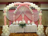 Свадьва в бело розовом цвете