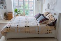 Фланелевое постельное белье Бургундия,  ASHGABAD TEXTILE