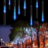 Гирлянда СОСУЛЬКА 30 см 8 ламп 2,1 м синий