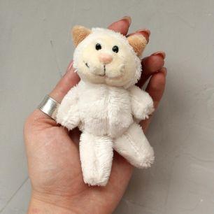Аксессуар для куклы Nici, белый котик